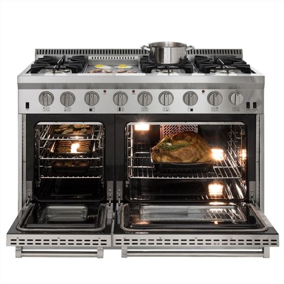 AGA Total Control Cast Iron 3-Oven Electric Rang-2